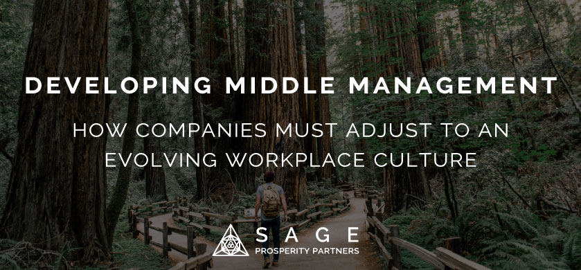 Developing Middle Management: How Companies Must Adjust to an Evolving Workplace Culture